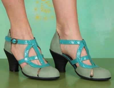 Schuhe, Prize, cupido-patent-aqua