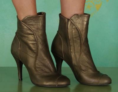Schuhe, Bree, borgogna-bronze