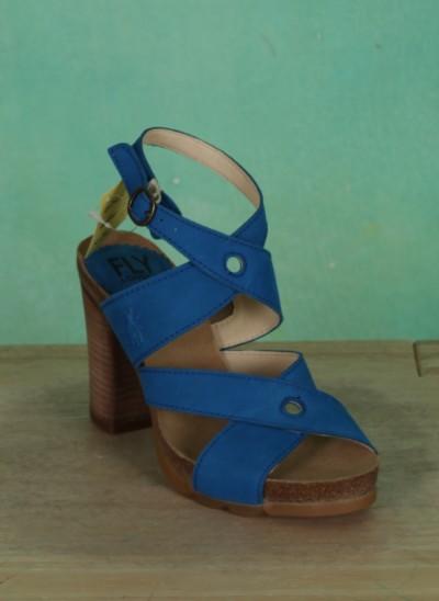 Schuhe, Boxy, electric-blue