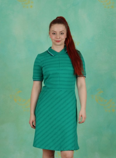 Kleid, Stand, green