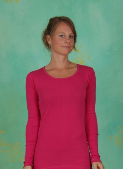 Shirt, Mimmi, rose-violet