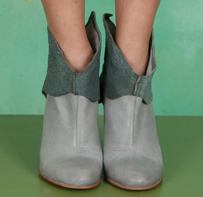 Schuhe, Athena Bootie, azur