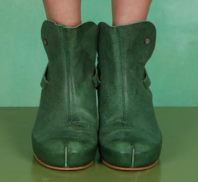 Schuhe, Selene Clog Strap , green