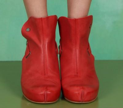 Schuhe, Selene Clog Strap , red