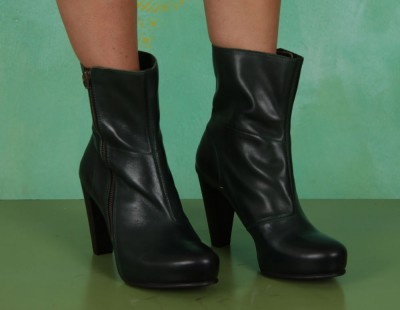 Schuhe, Gala Winter Zipper Boot, green