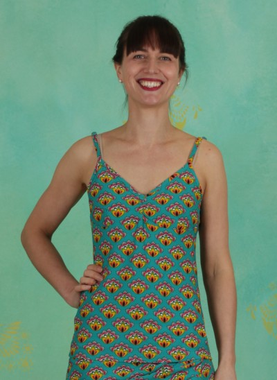Top, 385156, turquoise