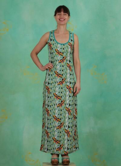 Kleid, 385180, green-white-multi