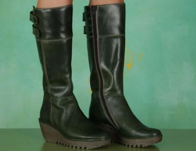 Schuhe, Yush, rug-green