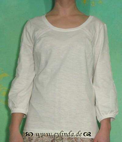 T-Shirt, Agnete, chalk