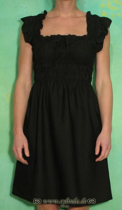 Kleid, Enya, black deep