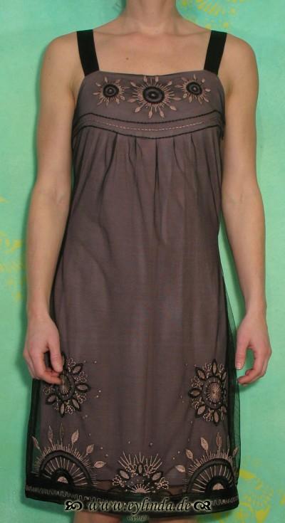 Kleid, 50968, blossom taupe