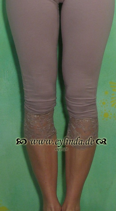 Leggings, Sille, dusty purple