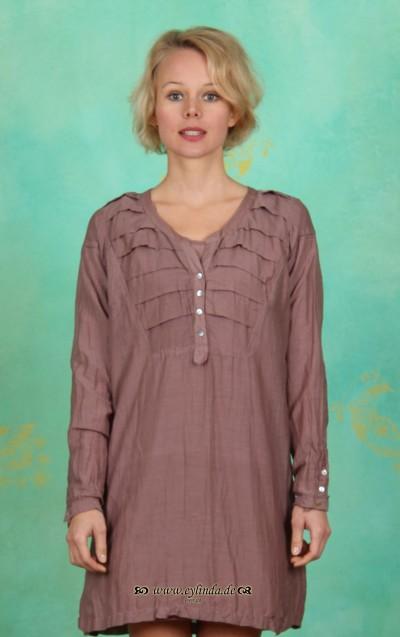 Long Shirt, Cecille, twilight-mauve