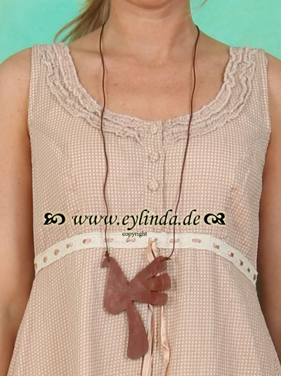 Kette, Dove, tan leather brown