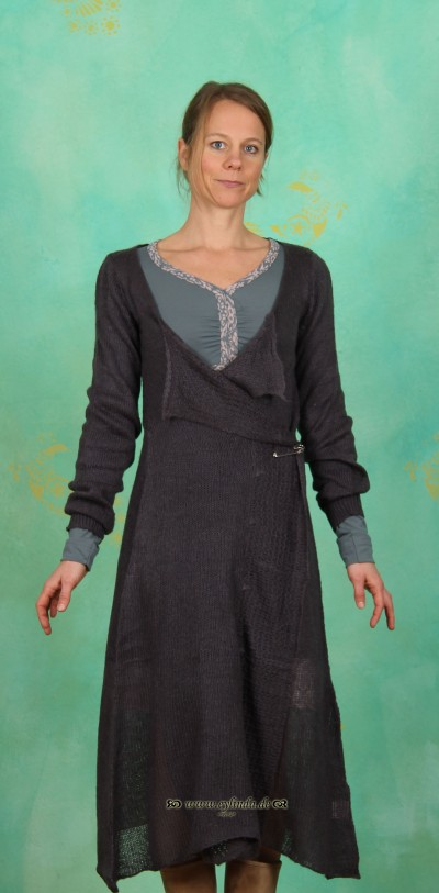 Long-Cardigan, Monica, iron-grey