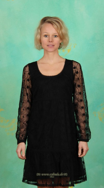 Kleid, Elisa, black-deep