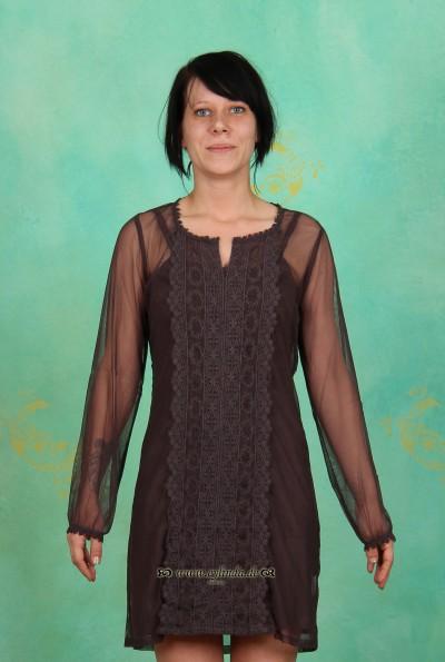 Kleid, Annabil, dark-zinc
