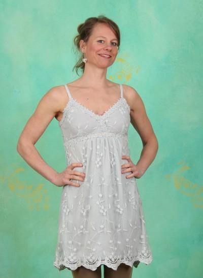 Kleid, Bridale, pearl-blue
