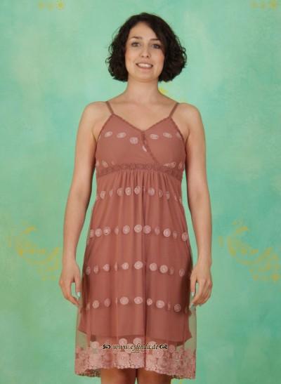Kleid, Sonja Lace, burlwood