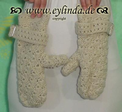 Handschuhe, Carolina, milky sand