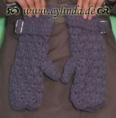 Handschuhe, Carolina, soft lavender