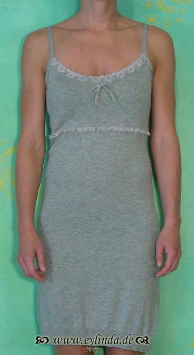 Unterkleid, Crissy, light grey melange