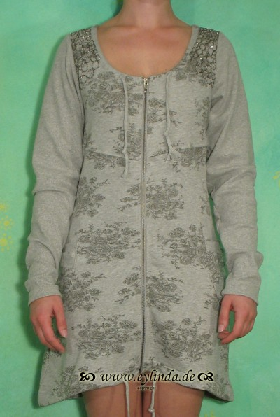 Cardigan, Barbette, grey melange