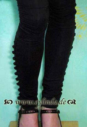 Leggings, Silk Leggins, black