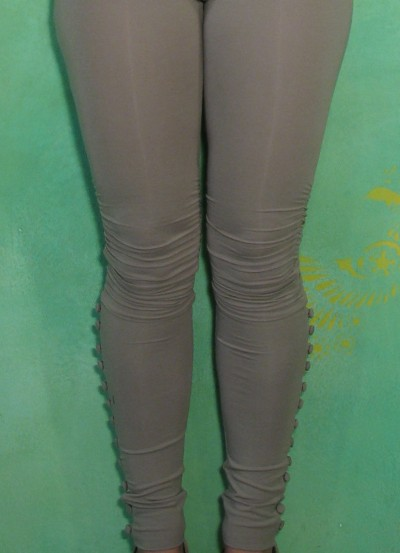 Leggings, Silk Leggins, zinc