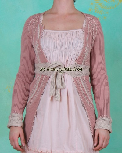Cardigan, 61036, rose blush