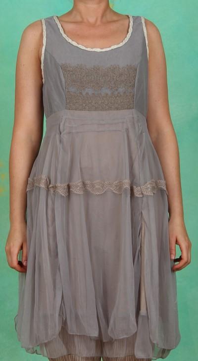 Kleid, Sassy, grey blue