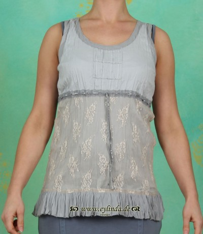 Top, 61284, pearl blue