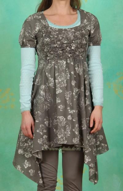 Kleid, Letty, khaki