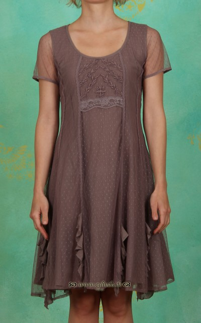 Kleid, Francisca, grey brown