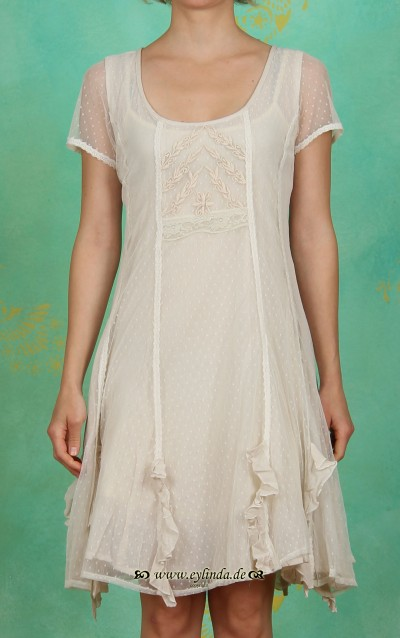 Kleid, Francisca, warm off white