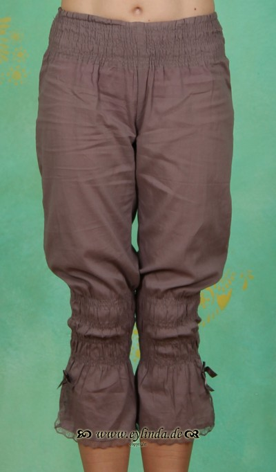 Hose, Felina, grey brown