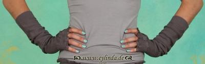 Armstulpen, Alicia, dusky-grey