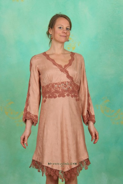 Kleid, Roma, dusty-rose