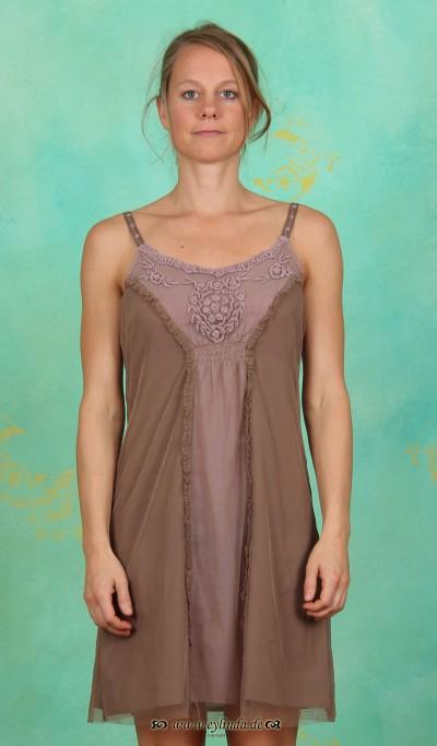 Kleid, Onlic, bark-brown