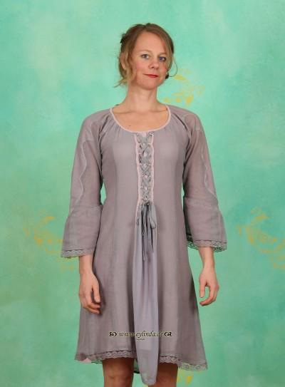 Kleid, Musse, lavender-blue