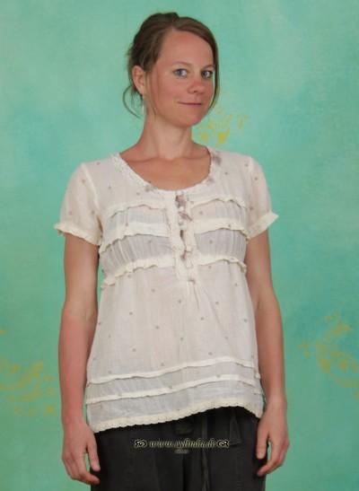 Bluse, Josie Blouse, warm-off-white