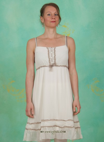 Kleid, Vera, warm-off-white