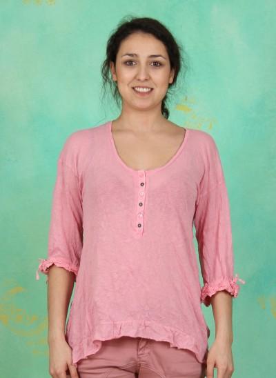 Shirt, Suzy, sea-pink