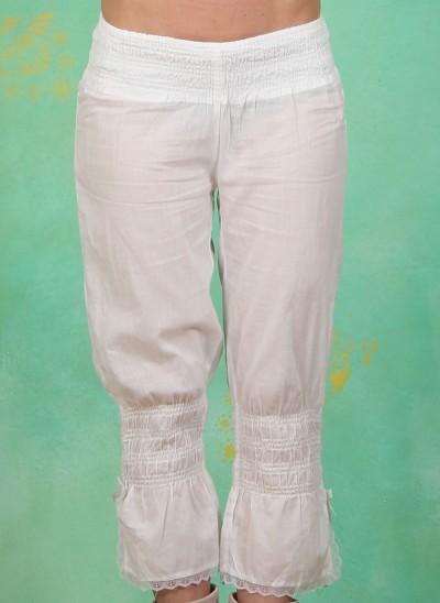 Hose, Felina, optical-white