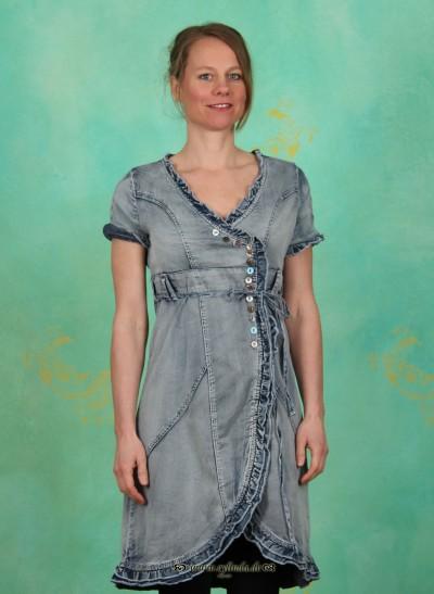 Kleid, Majbritt, summer-blue