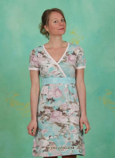 Kleid, Tine, air-turquoise