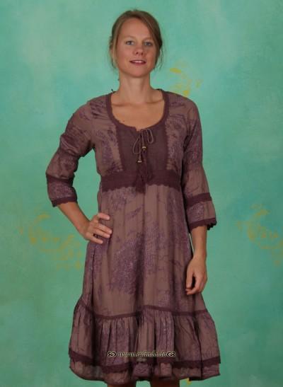 Kleid, Lou, twilight-mauve