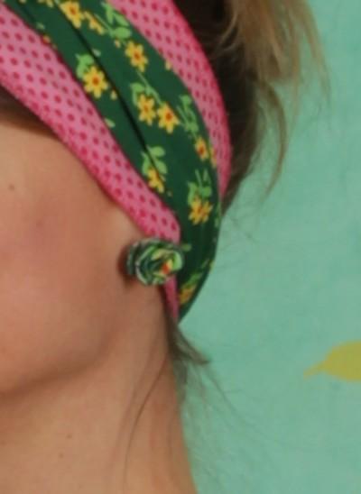 Ohrstecker, Kissmark Ears, flower-green