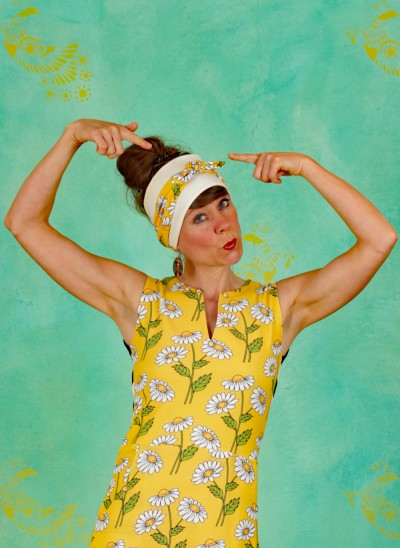 Haarband, Daisy Head, daisy-yellow