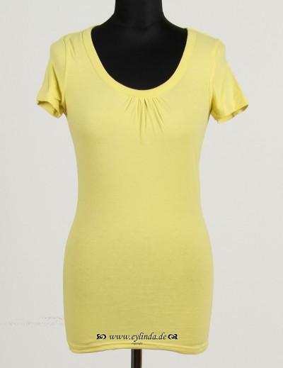 T-Shirt, Basic-Jersey Stretch-Light-03, djin